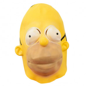 Homer Simpson Mask Cosplay