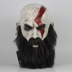 Kratos God Of War Latex Mask