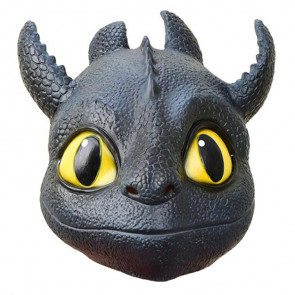 Toothless How to Train Your Dragon 3 Head Mask Cosplay