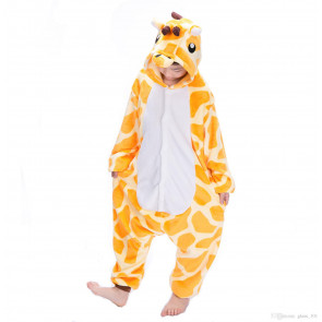 Kids Giraffe Onesie Jumpsuit Costume