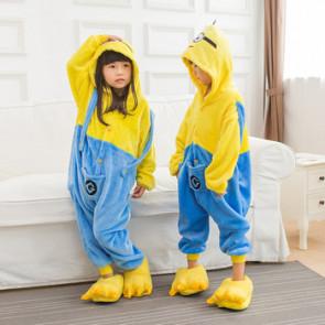 Kids Minion Onesie Jumpsuit Costume