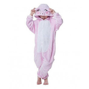 Kids Pig Onesie Jumpsuit Costume
