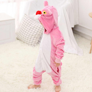 Kids Pink Panther Onesie Jumpsuit Costume