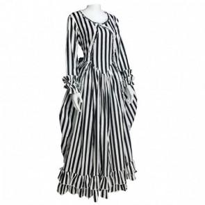 Girls Christina Ricci Striped Dress from Sleepy Hollow Costume