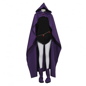 Teen Titans Raven Cosplay Costume