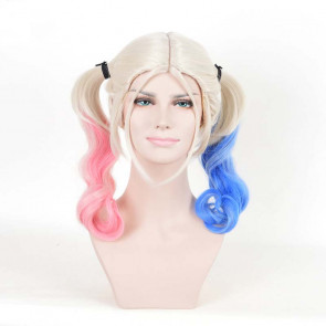 Harley Quinn Hair Wig For Adults