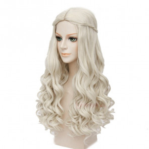 White Queen Alice in Wonderland Hair Wig