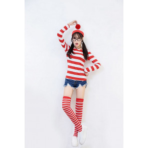 Women Where's Waldo Costume