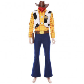 Woody Toy Story 4 Complete Cosplay Costume