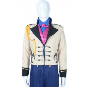 Disney Frozen Hans Prince Cosplay Costume For Mens Halloween Costume