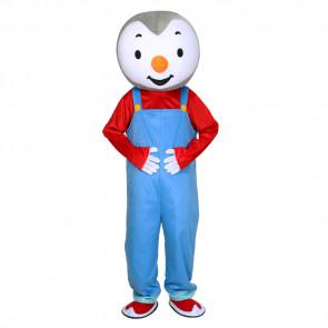 Giant T' Choupi Mascot Costume