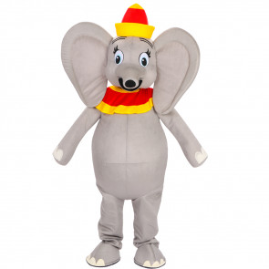 Giant Dumbo Mascot Costume