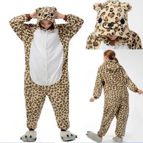Kids Leopard Onesie Jumpsuit Costume
