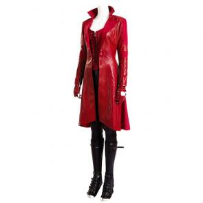 Civil War Scarlet Witch Wanda Maximoff Cosplay Costume