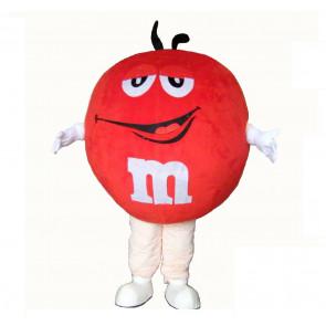 Giant Red M&M Mascot Costume