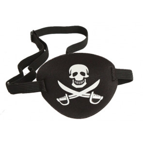 Halloween Prop Pirate Eye Patch Costume 1