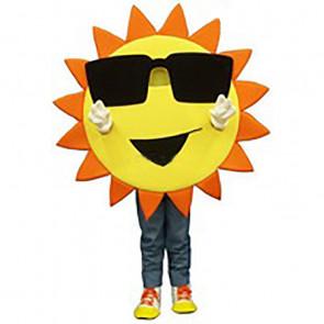 Giant Sun Mascot Costume