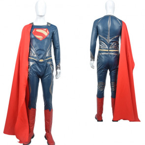 Superman Man of Steel Complete Cosplay Costume