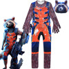 Guardians of The Galaxy Rocket Raccoon Costume For Boys