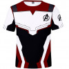 Kids Avengers Endgame Quantum Realm Cosplay Costume Top T-Shirt