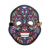 Outline Y Robot LED Mask