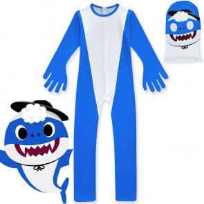 Kids Daddy Blue Shark Costume