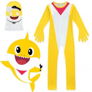 Kids Daddy Yellow Shark Costume