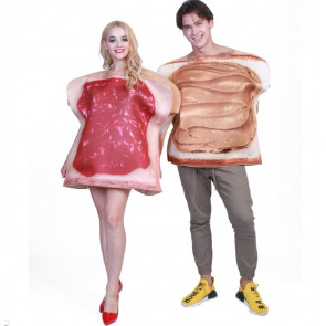 Peanut Butter and Jelly Sandwich Couples Costume