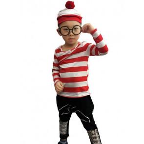 Kids Where's Waldo Costume