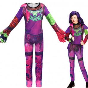 Childrens Deluxe Mal Isle of the Lost Descendants Costume