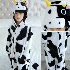 Kids Cow Onesie Jumpsuit Costume
