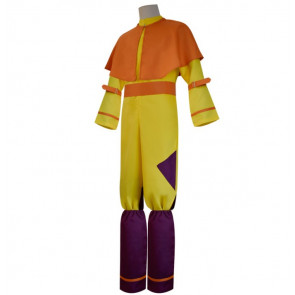 Men's Avatar The Last Airbender Bumi Avatar Aang Cosplay Costume