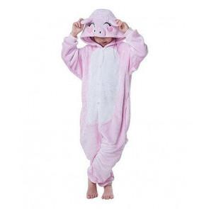 Kids Pig Onesie Jumpsuit Costume