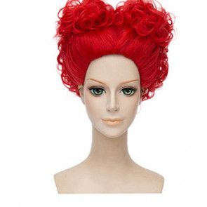 Alice in Wonderland Red Queen of Hairs Hair Wig For Adults