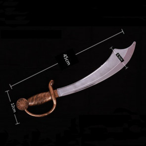 Halloween Prop Pirate Sword Costume