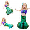 Girls Ariel Mermaid Dress Costume