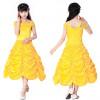 Girls Belle Dress Costume