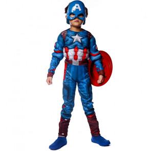 Boys Captain America Costume