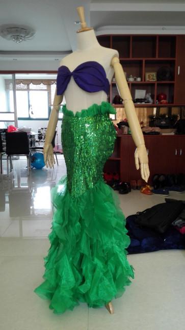Adult Ariel Mermaid Fin Costume