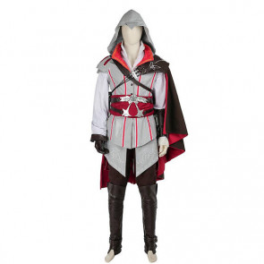 Assassin's Creed Ezio Auditore da Firenze Cosplay Costume