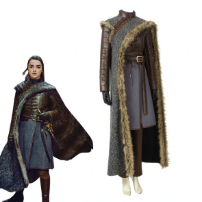 Arya Stark Season 8 Cosplay Costume