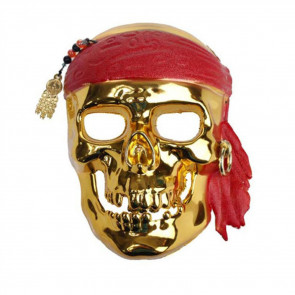 Halloween Pirate Skull Face Mask Costume