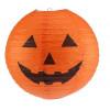 Halloween Skrämmande papper pumpa Hanging Lantern ljus