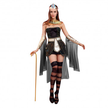 Halloween Masquerade Ball Sexy Egypt Queen Dress Costume