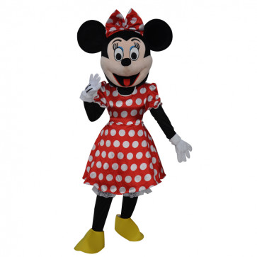 Giant Minnie Mouse Cosplay Halloween Costume Mascot