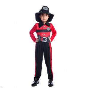 Boys Fireman Firefighter Costume