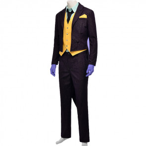 Disney Batman Joker Cosplay Costume For Men Halloween Costume