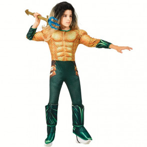 Boys Aquaman Movie Child's Deluxe Costume