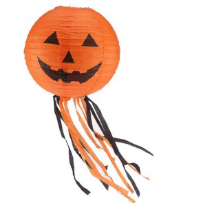Halloween Floating Flying Paper Pumpkin Hanging Lantern Light