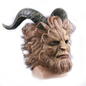 Beauty and the Beast The Beast Official Realistic Face Mask Cosplay